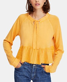 Free People Sweet Jane Colorblocked Top