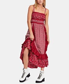 Free People Printed Yesica Maxi Dress