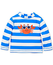 Little Me  Crab Baby Boys Rashguard