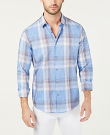 Alfani Men's Novo Plaid Shirt, Created for Macy's