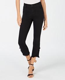 I.N.C. Tulip-Hem Skinny Ankle Jeans, Created for Macy's