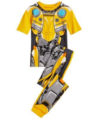 AME Transformers Boys 2 Piece Microfleece Pajama Set