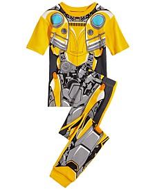 Transformers Little & Big Boys 2-Pc. Bumblebee Cotton Pajama Set