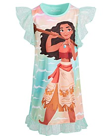 Little & Big Girls Moana Nightgown