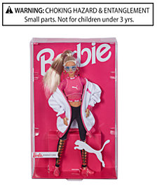 Barbie Puma Doll White Jacket
