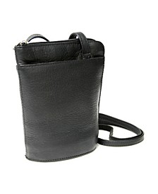 Royce Lightweight Crossbody Bag in Colombian Genuine Leather
