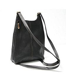 Royce Sling Backpack in Colombian Genuine Leather
