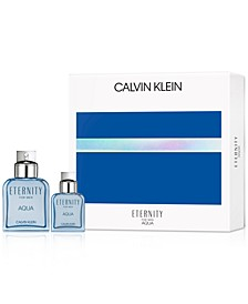 Men's 2-Pc. Eternity Aqua For Men Gift Set, Created for Macy's