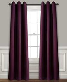 "Absolute Blackout 38"" x 84"" Curtain Set"