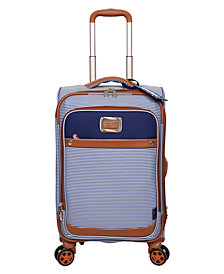"Jessica Simpson Breton Pop 21"" Spinner Suitcase"