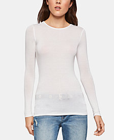 BCBGeneration Long-Sleeve Layering Top