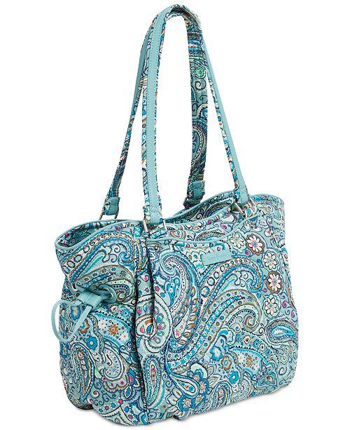 Vera Bradley Iconic Glenna Small Shoulder Bag Handbags Accessories Macy S