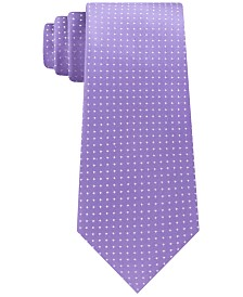 Kenneth Cole Reaction Men's Modern Pindot Slim Tie