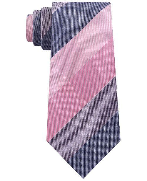 6869e1c92b6f Kenneth Cole Reaction Men's Modern Check Slim Tie. Macy's / Men / Ties & Pocket  Squares