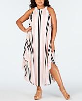 40db1ce29529a Love Squared Trendy Plus Size Striped Maxi Dress