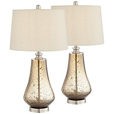 Brown Table Lamp - Set of 2