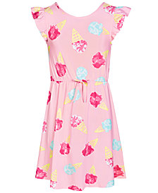 Epic Threads Super Soft Big Girls Ice Cream Fit & Flare Dress, Created for Macy's