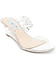 Blue by Betsey Johnson Vana Wedges