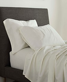 FlatIron Linen/Cotton Queen Sheet Set