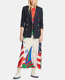 Polo Ralph Lauren CP-93 Silk Skirt