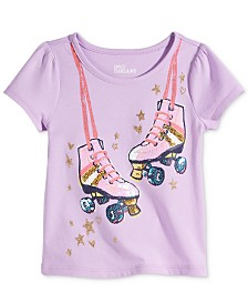 Epic Threads Toddler Girls Roller Skates T-Shirt, Created for Macy's