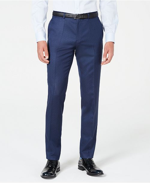 Hugo Boss HUGO Men's Slim-Fit Stripe Pants