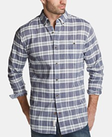 Weatherproof Vintage Men's Woven Dobby Shirt