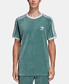 adidas Men's Adicolor Velour T-Shirt