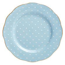 Royal Albert Polka Blue Salad Plate