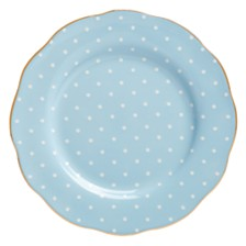 Royal Albert Polka Blue Salad Plate