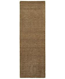 "Oriental Weavers Aniston 27104 Tan/Tan 2'6"" x 8' Runner Area Rug"