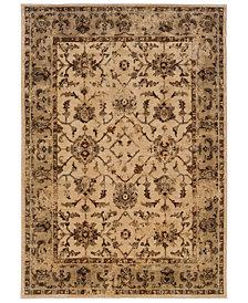 "Oriental Weavers Casablanca 1376E Ivory/Beige 6'7"" x 9'6"" Area Rug"