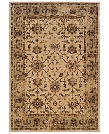 "CLOSEOUT! Oriental Weavers  Casablanca 1376E Ivory/Beige 7'10"" x 10'10"" Area Rug"