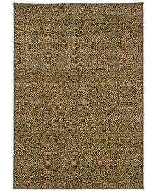 "Oriental Weavers Casablanca 4441C Beige/Blue 7'10"" x 10'10"" Area Rug"