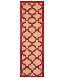 "Oriental Weavers Cayman 660 2'3"" x 7'6"" Indoor/Outdoor Runner Area Rug"
