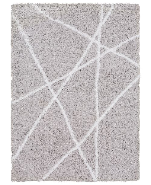 Surya Urban Shag USG-2305 Light Gray 2' x 3' Area Rug