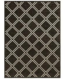 """Seville SEV-2335 Black 5'3"""" x 7'3"""" Area Rug"""