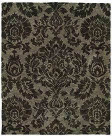 "Oriental Weavers Huntley 19108 Gray/Gray 2'3"" x 8' Runner Area Rug"