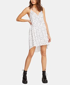 Volcom Juniors' High-Low Babydoll Dress