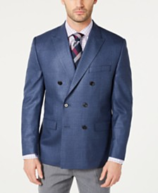 Lauren Ralph Lauren Men's UltraFlex Classic-Fit Windowpane Sport Coat