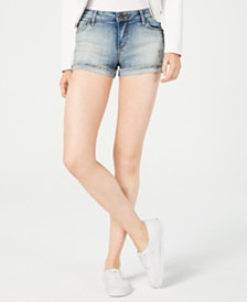 STS Blue Molly Fray-Hem Cuffed Shorts