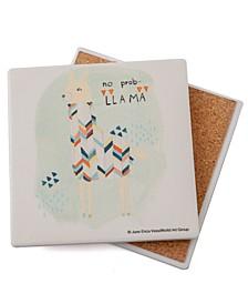 No Prob-Llama Coaster Single