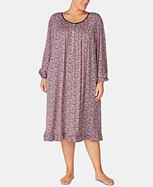 Eileen West Plus Size Waltz Nightgown