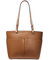 MICHAEL Michael Kors Bedford Pebble Leather Pocket Tote 0461066fb1