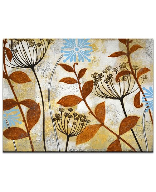 "Ready2HangArt 'Meadow Breeze I' Botanical Canvas Wall Art, 20x30"""