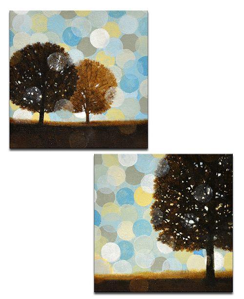 "Ready2HangArt 'Early Morning I/II' 2 Piece Canvas Wall Art Set, 20x20"""