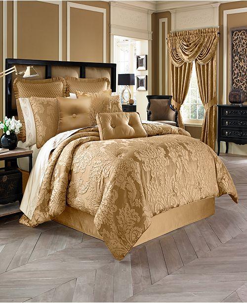 J Queen New York Five Queens Court Colonial California King Comforter Set