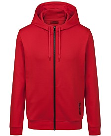 HUGO Men's Regular-Fit Logo Hoodie