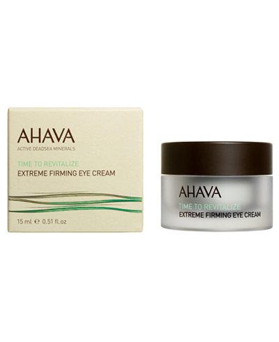 Ahava Time to Revitalize Extreme Firming Eye Cream, .5 oz