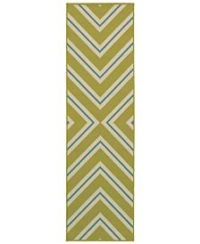 """Oriental Weavers Riviera 4589 2'3"""" x 7'6"""" Indoor/Outdoor Runner Area Rug"""